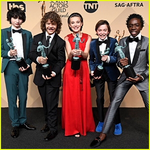 The Gifs From 'Stranger Things' SAG Awards Win Will Make Your Night!