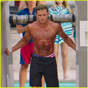 VIDEO: Zac Efron Shows Off His Buff Body in New 'Baywatch' Trailer