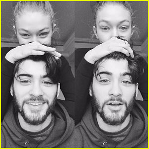 Zayn Malik & Gigi Hadid Are Super Cute in New Selfie!