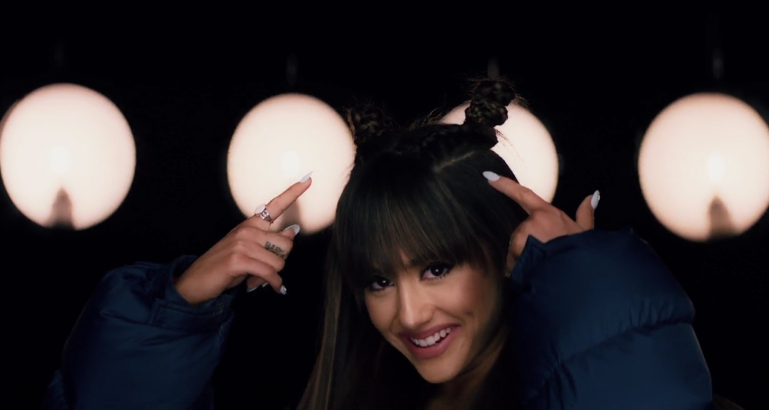 Ariana Grande Rocks Super Cute New Hairstyle In New Everyday - Hairstyle girl 2017 video