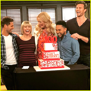 Chelsea Kane & The Cast of 'Baby Daddy' Have Major Party For 100th Episode