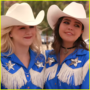 Bailee Madison & Chloe Lukasiak Start A Equestrian Drill Team Together in 'A Cowgirl's Story' Trailer (Exclusive)