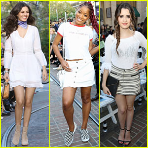 Victoria Justice, Keke Palmer, & Laura Marano Strut Their Stuff at Rebecca Minkoff Fashion Show