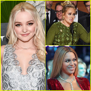 Dove Cameron & More Stars Have a Lot to Say About Beyonce & Adele at the Grammys