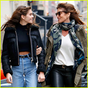 Kaia Gerber's Mom Cindy Crawford Has Only One Concern About Her Modeling Career
