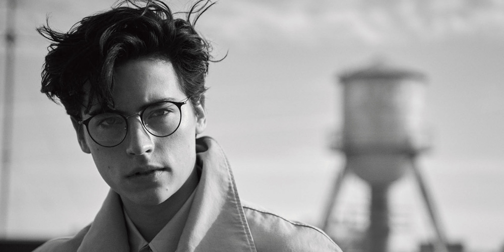 Cole Sprouse Signed Up For 'Riverdale' For One Big Reason ... Daniel Sharman Tumblr Black And White