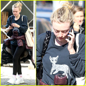 Dakota Fanning Captures Her Mood in One Telling Photo