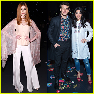 Shadowhunters' Clary, Izzy & Simon Take On New York Fashion Week