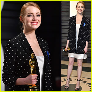 Emma Stone's Blue Ribbon Was a Seriously Important Message to the World