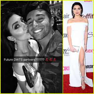 Jake Miller & Jenna Johnson Fuel More 'DWTS' Rumors!