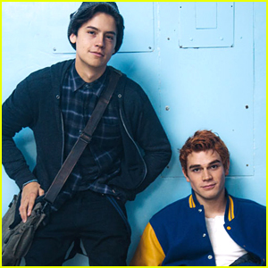 KJ Apa Catches Cole Sprouse Dancing On Their Road Trip