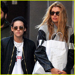 Kristen Stewart & Stella Maxwell Couple Up for Shopping Trip