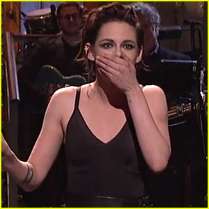 Kristen Stewart Accidentally Drops the F-Bomb During Her SNL Opening Monologue - Watch Now!
