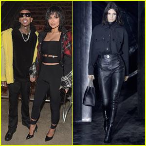 Kylie Jenner Rocks a Wig to Alexander Wang's Fashion Show