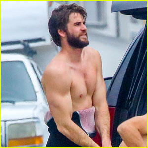 Liam Hemsworth Gets In a Day of Surfing in Malibu!