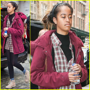 Malia Obama Continues Her Weinstein Company Internship in the Big Apple