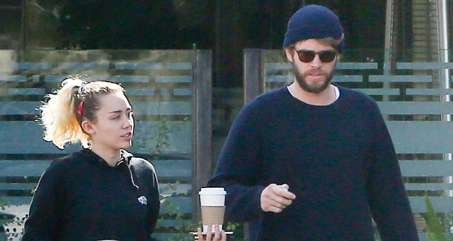 Miley Cyrus & Liam Hemsworth Have Laid Back Malibu ...