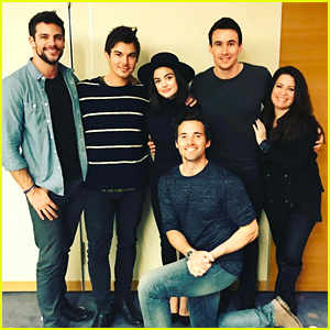 Lucy Hale Shares Sweet PLL Reunion Pic with Tyler Blackburn & Ian Harding