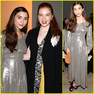 Rowan Blanchard Shines At 'Creatures of the Wind' Show During NYFW