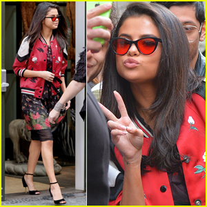 Selena Gomez Has Some Adorable Moments With Lucky Fans!