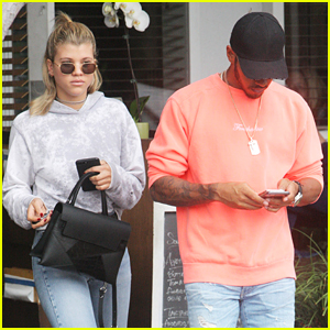 Sofia Richie & Lewis Hamilton Lunch Out Together in LA
