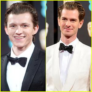 'Spider-Man' Actors Tom Holland & Andrew Garfield Finally Meet!