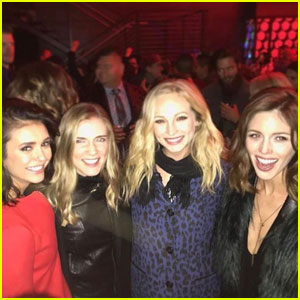 'The Vampire Diaries' Cast Attends Wrap Party, Nina Dobrev Gives Co-Stars #TVDForever Keys