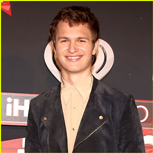 Ansel Elgort Hits the Red Carpet at iHeartRadio Music Awards 2017!