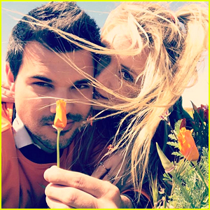 Billie Lourd & Taylor Lautner Look So Happy & In Love!
