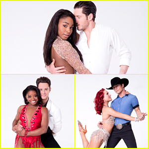 Normani Kordei, Simone Biles & Bonner Bolton: 'Dancing With The Stars' Season 24 Portraits Revealed!