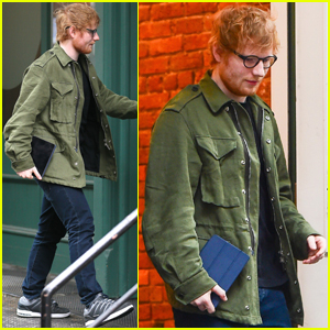 Ed Sheeran Hangs With Taylor Swift in New York City