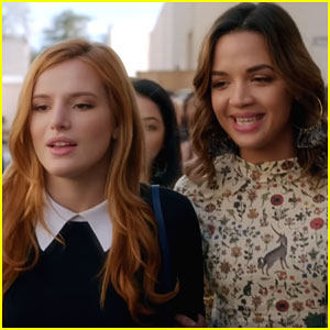 Bella Thorne & Georgie Flores Have All The Audition Jitters In the First Clips from 'Famous in Love'