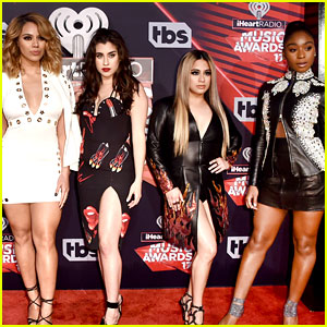 Fifth Harmony Walks Red Carpet at iHeartRadio Music Awards 2017!