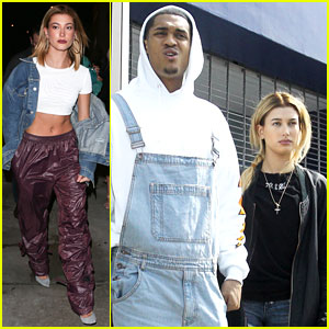 Hailey Baldwin Goes on Lunch Date With Jordan Clarkson