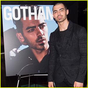Joe Jonas Shares Photos from Inside His 'Gotham' Magazine Cover Event