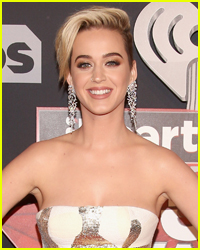 Katy Perry Smiles On Red Carpet With Food In Her Teeth