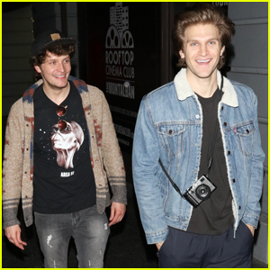 Keegan Allen & Brett Dier Have a Guys Night Out