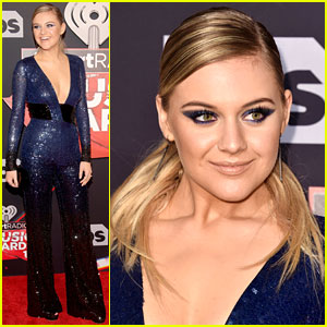 Kelsea Ballerini Matches Her Eye Makeup to Her Outfit at iHeartRadio Music Awards 2017!