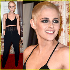 Kristen Stewart Cuts All Her Hair Off, Dyes Shaved Head Blonde!