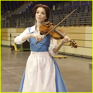 Violinist Lindsey Stirling Pays Tribute to 'Beauty & The Beast' With Gorgeous New Video