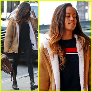 Malia Obama Gets Called 'Smart' & 'Charming' While Catching Another Broadway Play in NYC