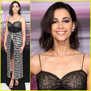 Naomi Scott Reunites With 'Lemonade Mouth' Co-Star Bridgit Mendler at 'Power Rangers' Reunion