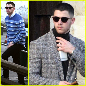 Nick Jonas Heads Home After Final Days in Europe