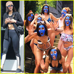 Nina Dobrev & Danielle Campbell Form Blue Woman Group
