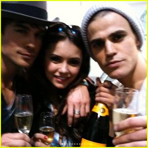 Nina Dobrev Says Goodbye To 'Vampire Diaries' Family With Throwback Photos