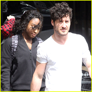 Normani Kordei & Val Chmerkovskiy Share New Video From 'Dancing With The Stars' Rehearsals