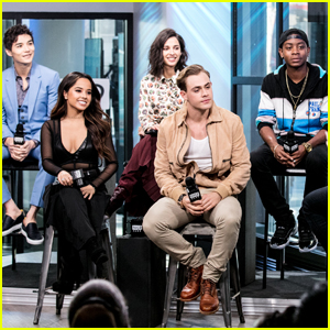 Becky G & 'Power Rangers' Cast Do NYC Promo