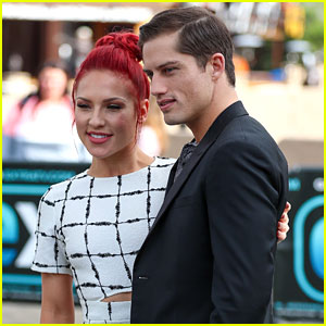 Sharna Burgess Brushes Off Romance Rumors Between Her & DWTS Partner Bonner Bolton