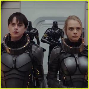 Cara Delevingne & Dane DeHaan Debut New 'Valerian' Trailer - Watch Now!