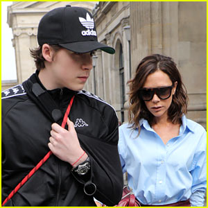 Brooklyn Beckham's Mom Victoria Pokes Fun at Him on Instagram